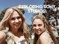 VLOG: Exploring the Sony Pictures Studio lot & Weekend Fun