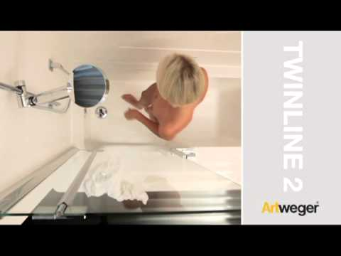 badewanne mit dusche youtube. Black Bedroom Furniture Sets. Home Design Ideas