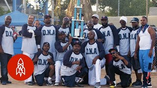 Rival Gangs Find Peace on the Softball Field