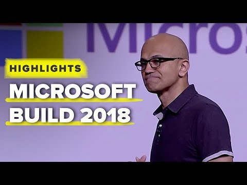 Microsoft's Build 2018 keynote highlights