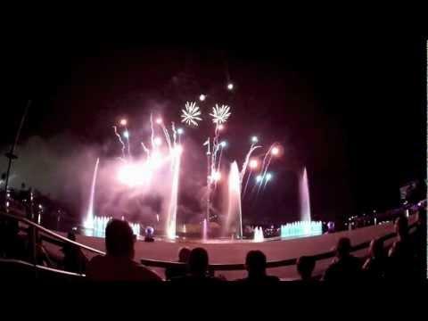 Reflections fireworks show at SeaWorld Orlando Summer Nights 2012