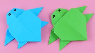 Origami Turtle - How To Make Easy Origami Turtle - Origami Tutorial Step By Step