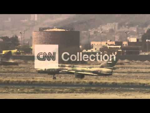 YEMEN:DAMAGED FACILITIES AT SANAA AIRPORT