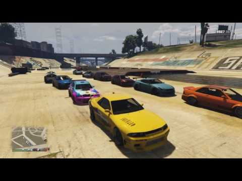 gta 5 online street car meet drag race ps4 youtube. Black Bedroom Furniture Sets. Home Design Ideas