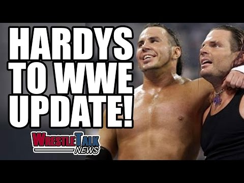 Kurt Angle WWE Wrestling Return Plans! Matt & Jeff Hardy Vs TNA! | WrestleTalk News Mar. 2017
