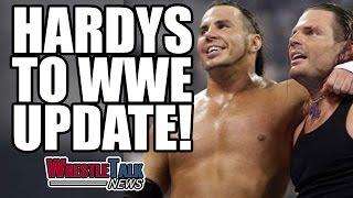 Kurt Angle WWE Wrestling Return Plans! Matt & Jeff Hardy Vs TNA!   WrestleTalk News Mar. 2017