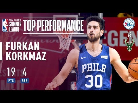 Furkan Korkmaz vs. Clutch For Sixers During Crunch Time vs. 2018 Summer League