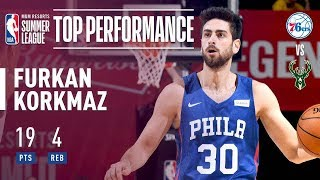 Furkan Korkmaz Comes In Clutch For The Sixers In Crunch Time   2018 MGM Resorts Summer League