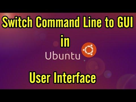 Ubuntu Command Line to GUI | Ubuntu Switch from Command Line
