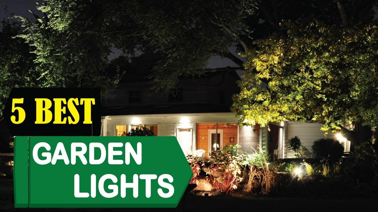 5 Best Garden Lights 2018