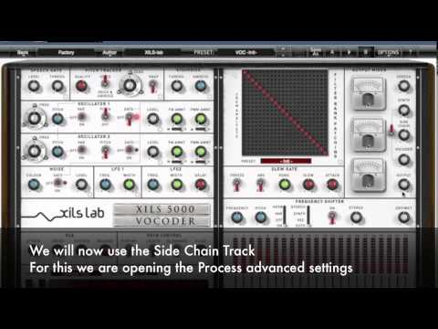 XILS Vocoder 5000 : Side Chain Tutorial with Cubase