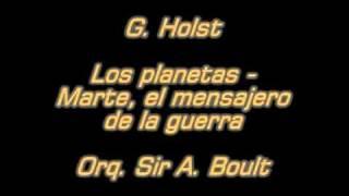 Holst - Los planetas - Marte - Orq. Sir Adrian Boult.mpg