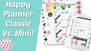 Should You Buy The Happy Planner Classic Or Mini?