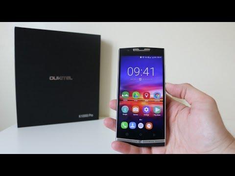 OUKITEL K10000 PRO REVIEW - TECHNO UPDATE - YouTube