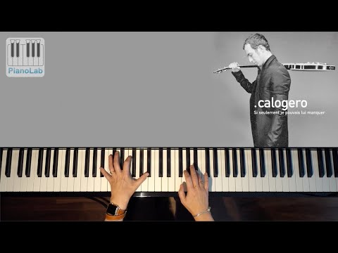 calogero si seulement je pouvais lui manquer piano cover youtube. Black Bedroom Furniture Sets. Home Design Ideas