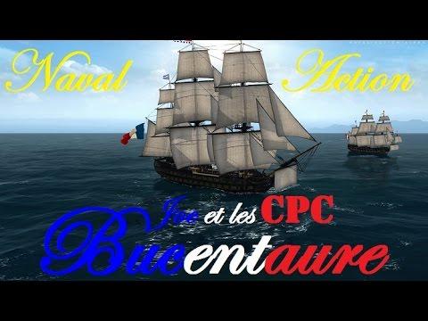 Naval Action - Bucentaure - PVP - Défense d'un trader francais