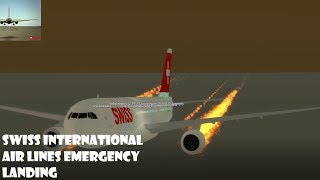 ROBLOX EMERGENCY LANDING AT SWISS