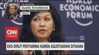Download Video Eks Dirut Pertamina Karen Agustiawan Ditahan MP3 3GP MP4