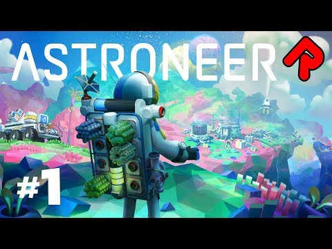 ASTRONEER 1.0 UPDATE: A Whole New Solar System! | Let's play Astroneer 1.0 gameplay ep 1