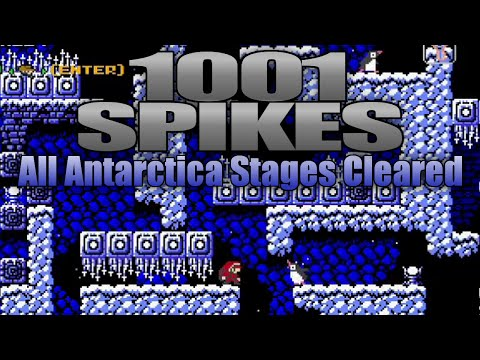 1001 Spikes - All Antarctica Stages Cleared