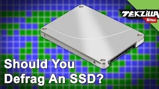 Why You Should Never Defrag Your SSD