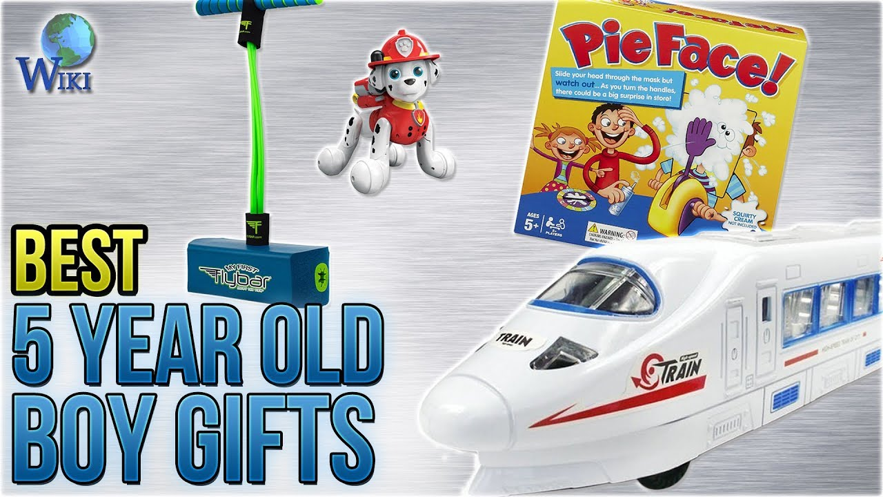 10 Best 5 Year Old Boy Gifts 2018 Youtube