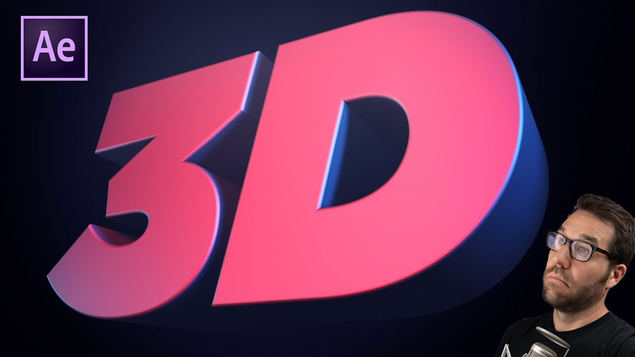 Create 3D Text in After Effects Without Any Plugins | Greyscalegorilla