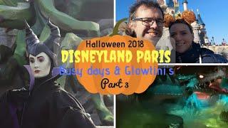 Disneyland Paris Halloween Vlogs Part 3 | Busy days & Glowtini's | KrispySmore 2018