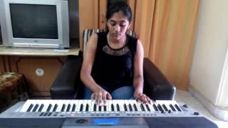sandese aate hai from border solo instrument on keyboard by s. mythily