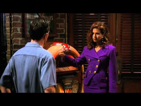 Friends TOW the Flashback [Time of the Season scene Chandler Rachel] HD