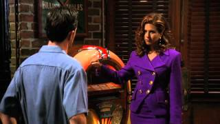 Friends TOW the Flashback [Time of the Season scene Chandler Rachel] HD