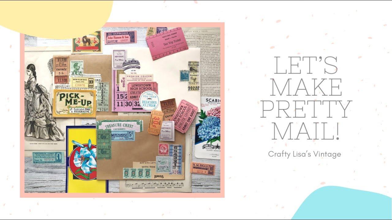Vintage Ephemera Haul | Mail Art Monday - Crafty Lisa's Vintage