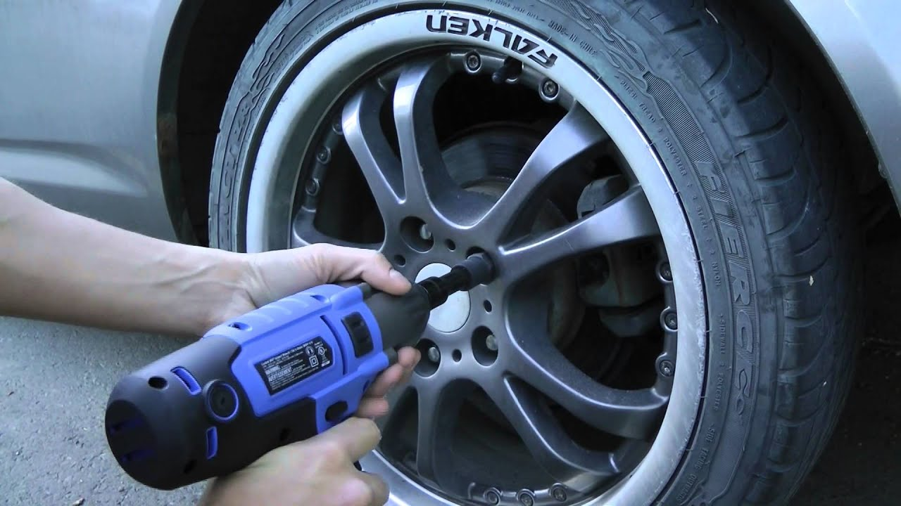 How To Remove Lug Nuts Without A Key Using Impact Wrench Works On Most Vehicles