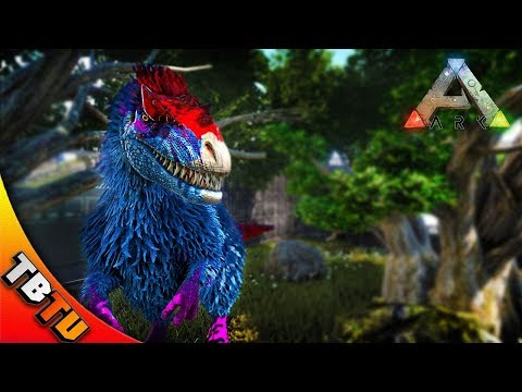 PACK OF FULLY MUTATED YUTYRANNUS! NEW ZOO ENCLOSURE! YUTYRANNUS COLOR MUTATIONS! Ark Survival Zoo