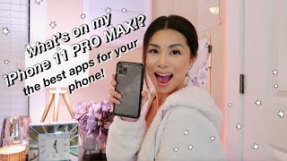 WHAT'S ON MY IPHONE 11 PRO MAX!? ☆