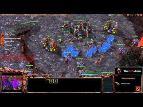 Starcraft 2 Masters Dual Cast - OMZ - Zerg Perspective