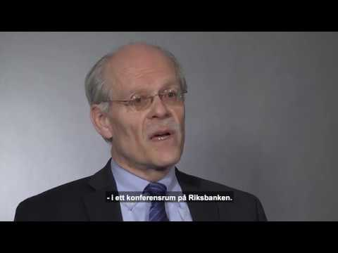 Riksbankschef Stefan Ingves intervjuas