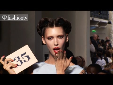 Hair & Makeup - The Best Hairstyles of Fashion Week Spring/Summer 2012   FashionTV