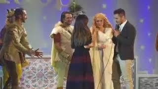 Proposta di matrimonio durante lo spettacolo Robin Hood