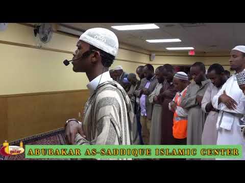 Salatul Fajr Led By Ahmed Burhan, the champion and winner of Dubai International Quran Competition.