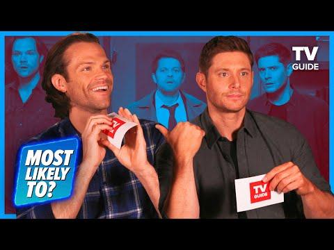 Supernatural Cast Plays 'Most Likely To' | Jared Padalecki, Jensen Ackles, Misha Collins