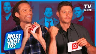 Supernatural Cast Plays 'Most Likely To' | Jared Padalecki, Jensen Ackles, Misha Collins