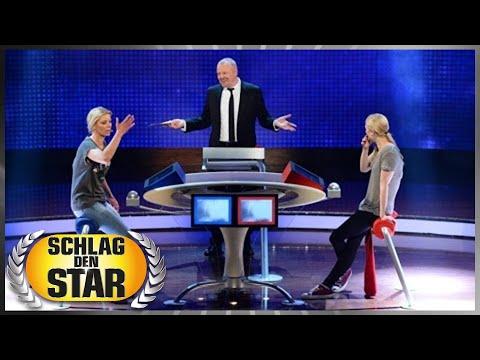 Spiel 4: Quiz - Larissa Marolt vs.Annica Hansen - Schlag den Star