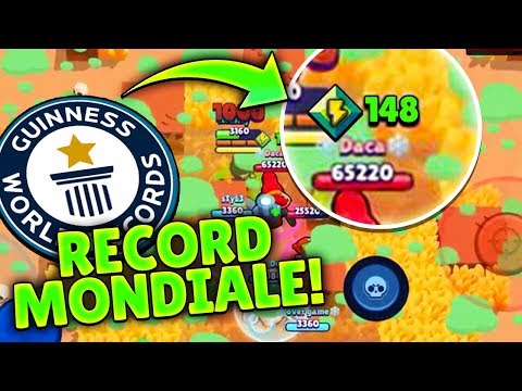 RECORD MONDIALE! 148 Power Up in SOPRAVVIVENZA! Brawl Stars ITA!
