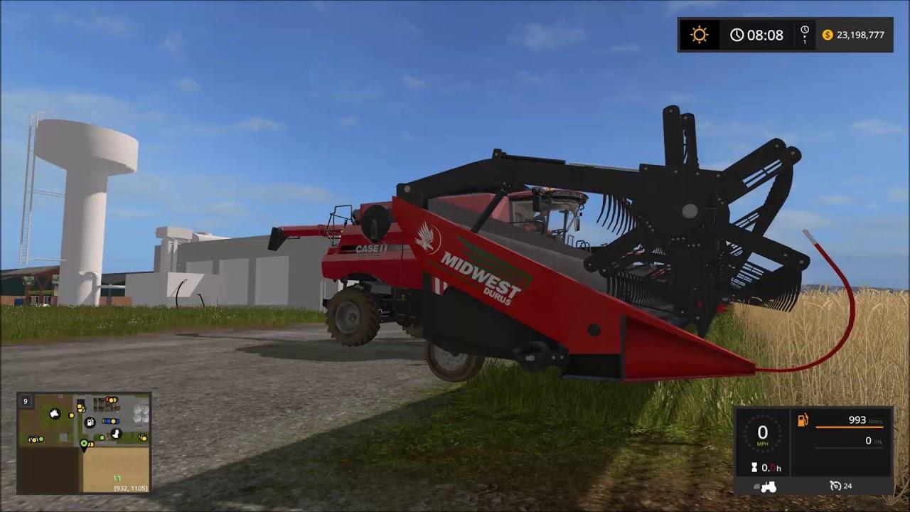 Farming Simulator 17 Mod Spotlight 60 Foot Header