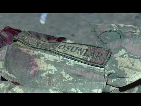 Տեսանյութ.Հակառակորդի մի քանի տասնյակ դիակներ հայկական կողմում են