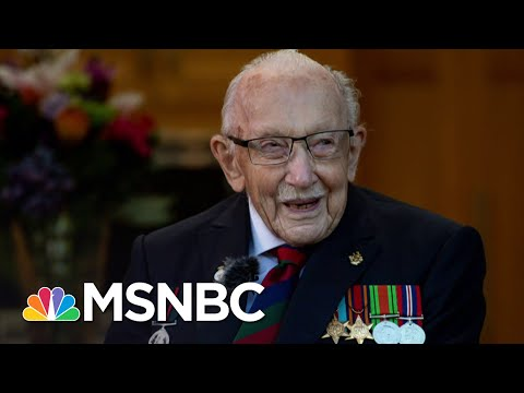Captain Sir Tom Moore, British Veteran Who Raised Millions For Medical Workers, Dies At 100   MSNBC