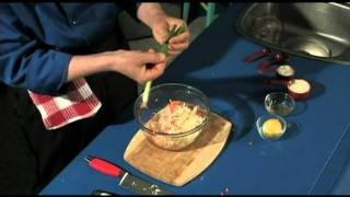 Coleslaw (a.k.a.cold Slaw) - Easy To Make, Healthy Homemade Coleslaw - Creamy Dressing