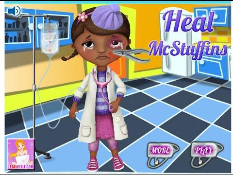 Little Kids Doctor Games Doc Mcstuffins Doctor Games YouTube - Doc games