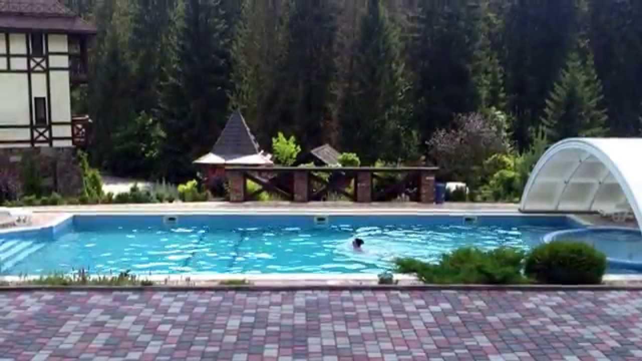de4231904d53 Літній відпочинок в Карпатах біля басейну - ВЕЖА ВЕДМЕЖА - YouTube